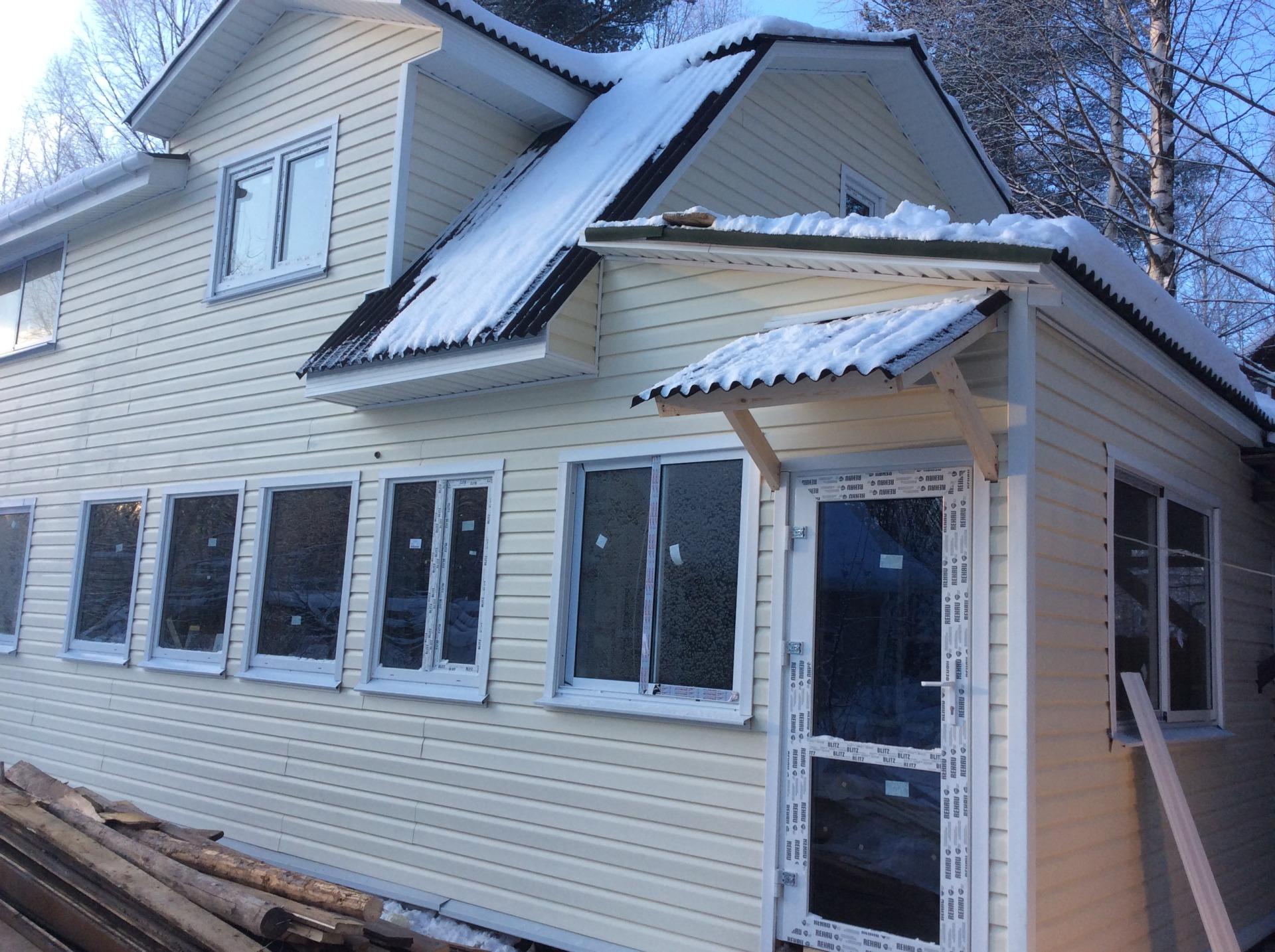 Реконструкция и переделка дачного дома