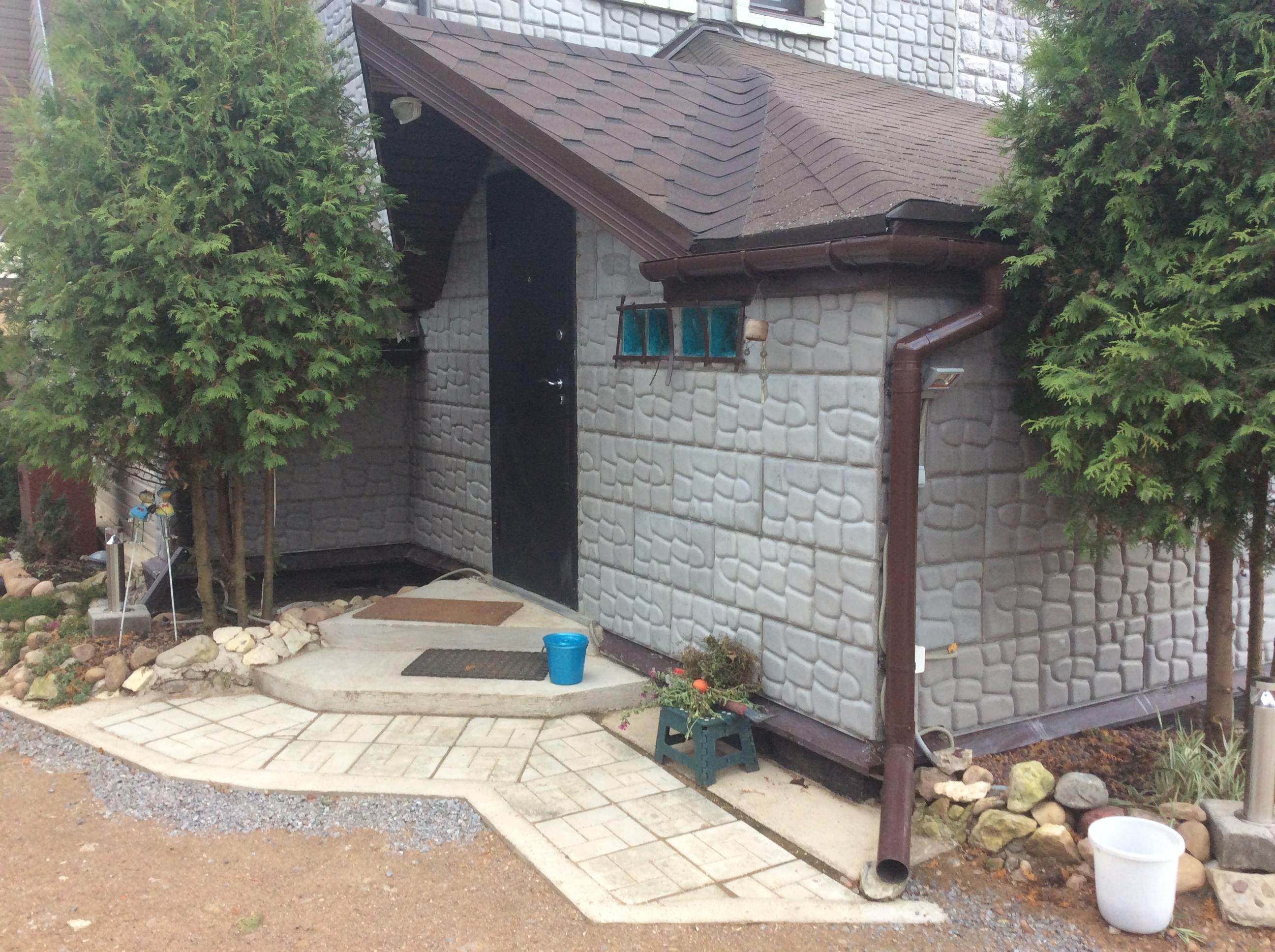 Пристройка к загородному дому
