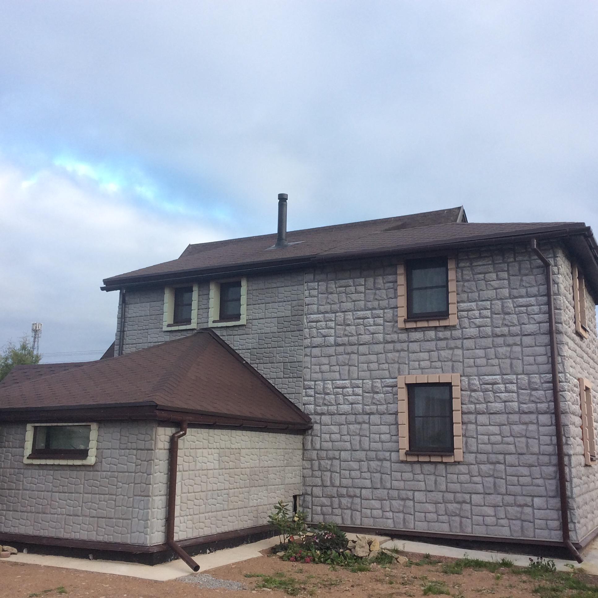 Реконструкция загородного дома в СПБ