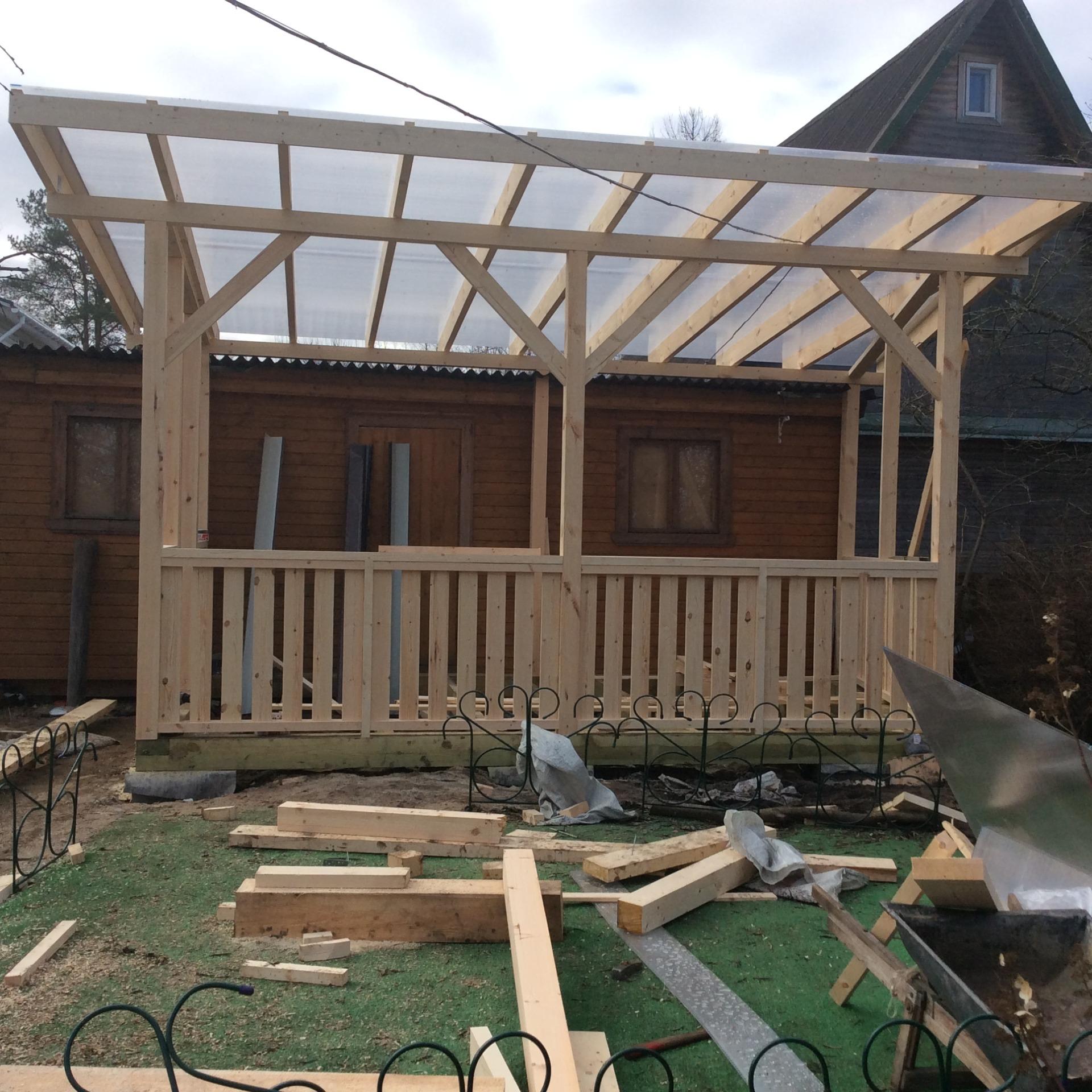 Строим террасы и веранды