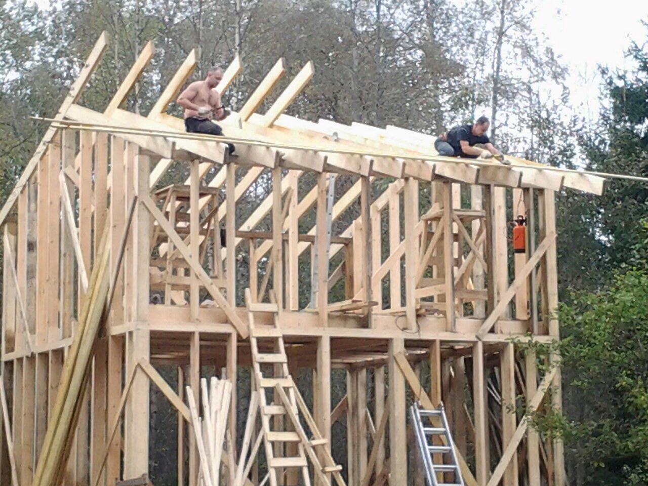 Бригада по строительству каркасных домов в СПБ