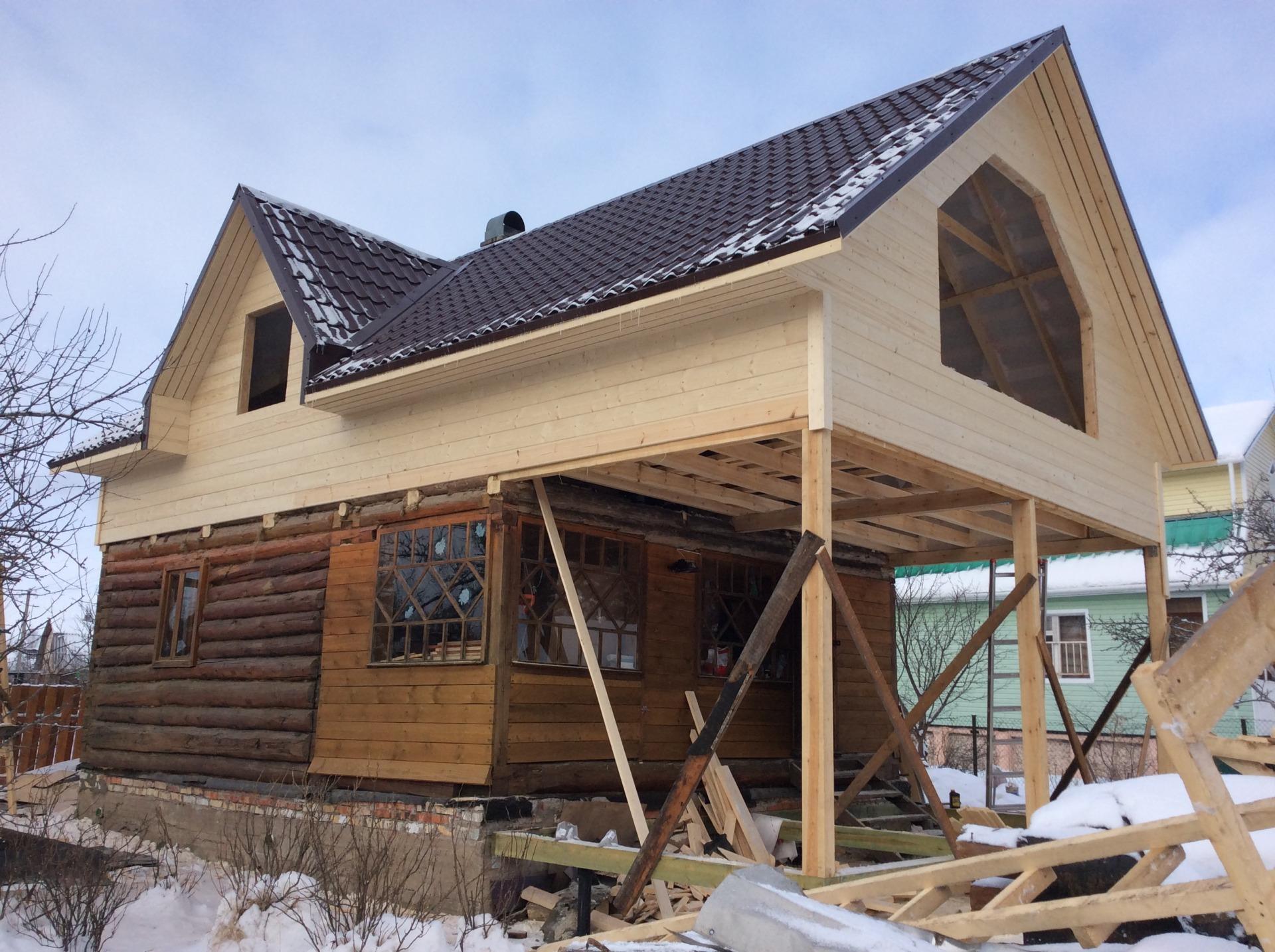 Реконструкция и переделка крыши