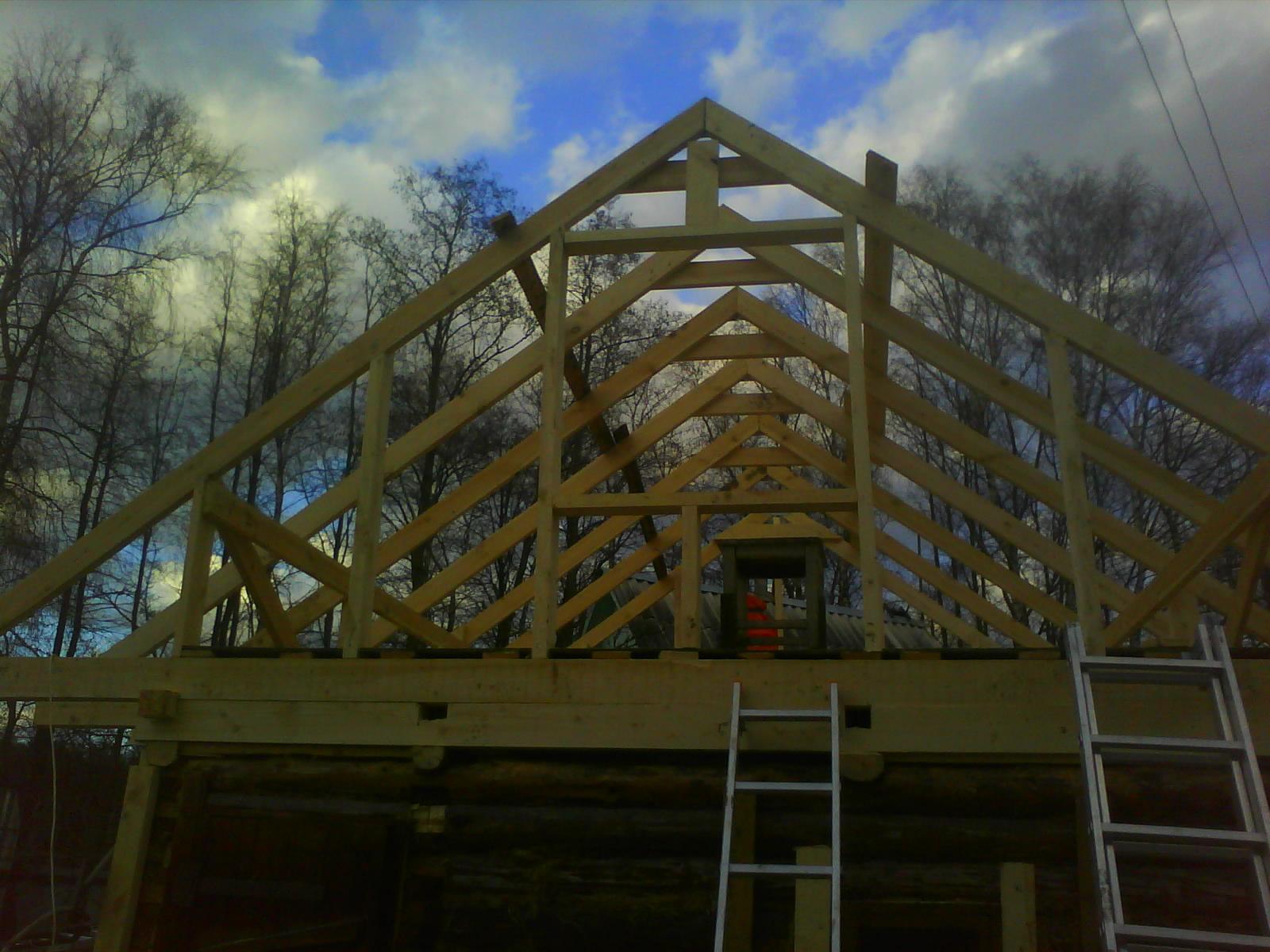 Пошаговое руководство по строительству крыши для дома своими руками 57